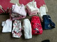 Tiny baby and new born girls clothes