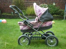 Dolls Silver Cross Pram