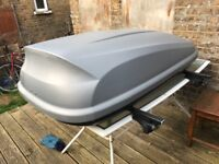HALFORD ROOF BOX WITH FITTING BARS