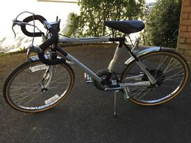 "Youngsters' Racing Bike - 10 Speed Shimano Gears, 20"" Wheels. Never used."