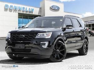 2016 Ford Explorer Sport CUSTOM- Grounded Lazar Demo, Low Kms