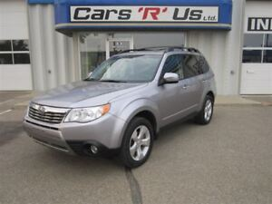 2010 Subaru Forester 2.5x Premium AWD, LOCAL TRADE (NO PST), NAV