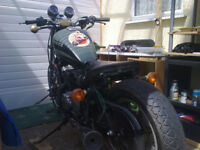 KAWASAKI EN450 UNFINISHED LOWRIDER PROJECT