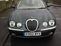 stunning jaguar s type time warp low milage immaculate cond 3.0ltr auto fsh dont miss this!!