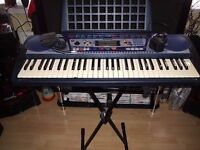 yamaha psr-260 key board complete with sustain pedal and stand (CUD DELIVER0