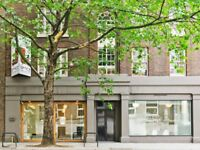 Modern office suite in Kings Cross (WC1), available private or shared, serviced