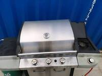 Large bbq and gas bottle