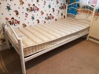 LOVE Single bed with good quality mattress