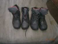 2 pairs of Men's Safety Boots Size 10