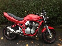 suzuki bandit 600gsf streetfighter, ideal first bike, great condition for age