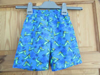 Zoggs Swimming Trunks age 3 As New – worn once