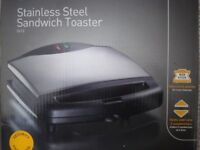 Stainless Steel Sandwich Toaster