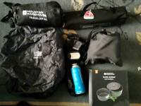 NEW Camping stuff and 2 man tent