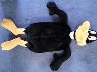 Large daffy duck hot water bottle cover/pyjama case