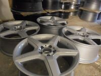 18inch mercedes benz AMG ALLOYS WHEELS STAGERED vito S, E ,A ,C CLASS c63 e63