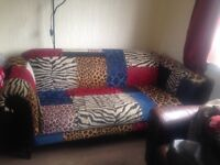 Patchwork couch