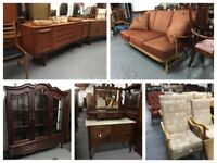 ** 20% OFF EVERYTHING ** SECOND HAND FURNITURE **