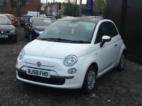 ★ 2008 FIAT 500 1.2 + PAN ROOF + LOW 68K MILES + FULL S/HISTORY ★