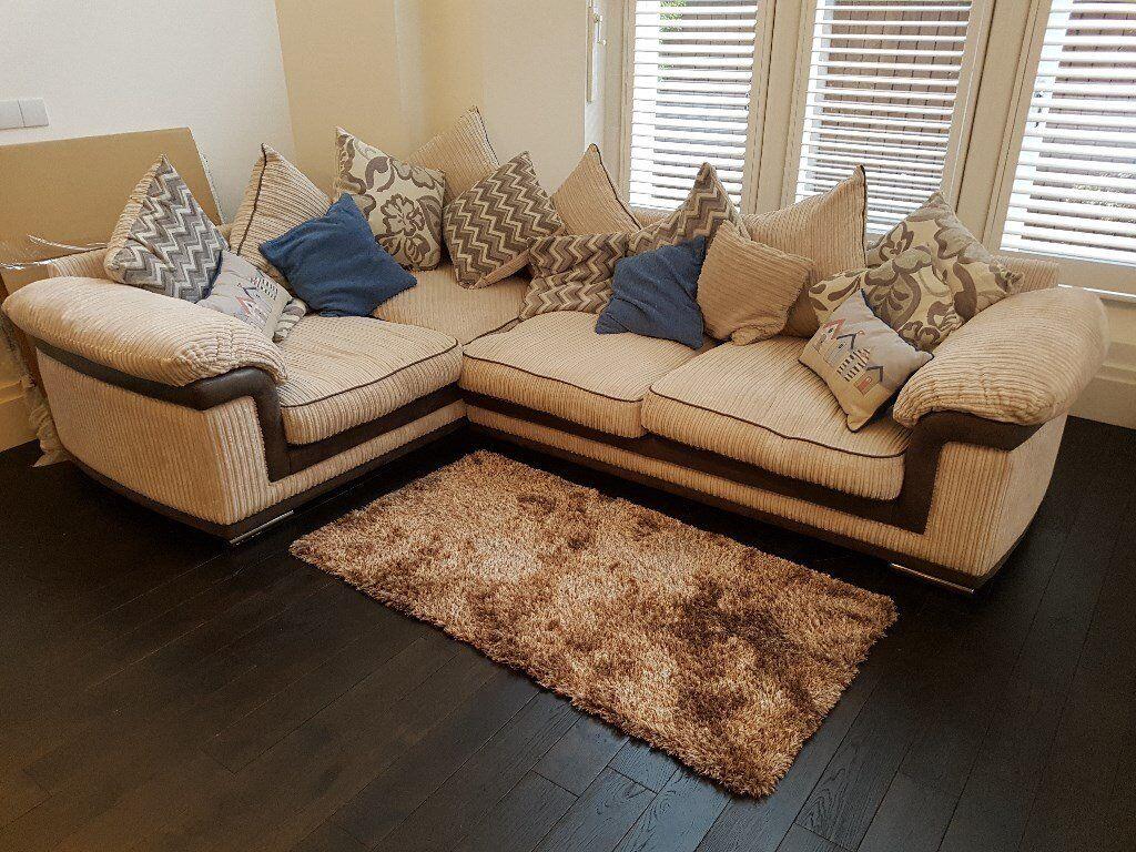 Furniture Village Bristol reduced** furniture village, tamsin left hand corner sofa, scatter