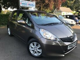 FINANCE £125 PER MONTH 2012 HONDA JAZZ I-VTEC ES 1.4 FULL HONDA HISTORY 2 KEYS 1 YEAR MOT AUX USB