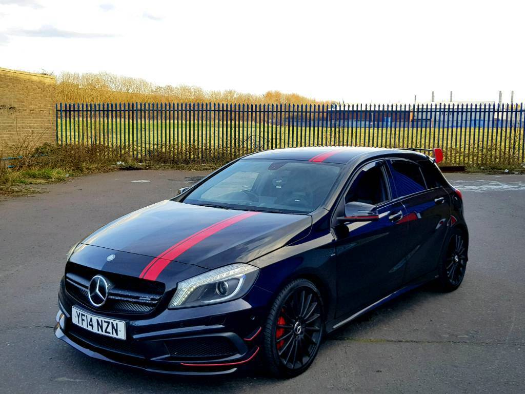 mercedes a45 amg 2014 aero pack 47k cat d in sparkbrook. Black Bedroom Furniture Sets. Home Design Ideas
