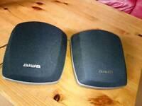 Aiwa speakers