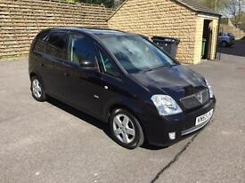 Vauxhall meriva pristine inside and out 12 months mot,full service history needs nothing