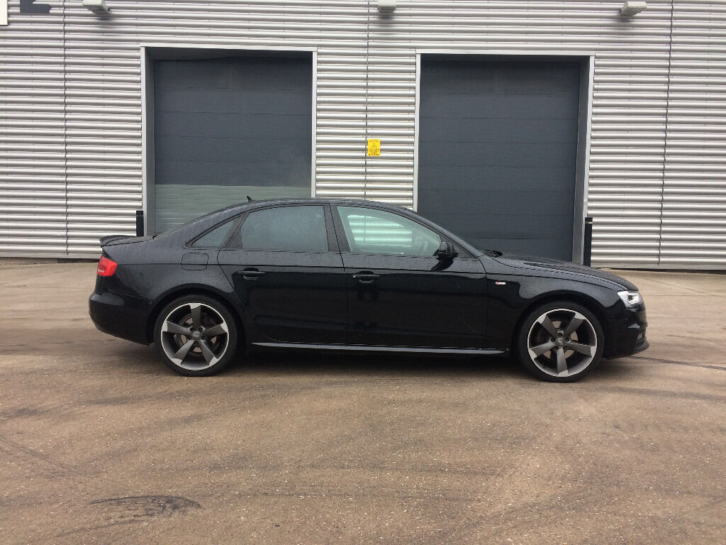 2010 audi a4 s line black edition tdi black huge spec black edition facelift rotor arm alloys. Black Bedroom Furniture Sets. Home Design Ideas