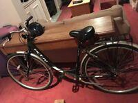 City bike. High quality. Barely used.