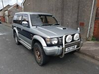 1996 Pajero Exceed 2.8D LWB, 2 owners since 2002