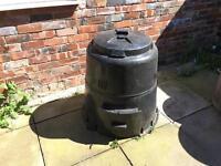 Garden compost bin tank storage