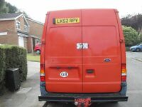 REDUCED TO CLEAR UNWANTED PART X FORD TRANSIT 2.4 DIESEL LONGWHEEL BASE NO VAT