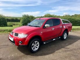 MITSUBISHI L200 BARBARIAN 2.5 DIESEL 4X4 TRUCK 2010 60-REG *ONLY 32,000 MILES* EXCELLENT CONDITION