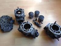 Yamaha rd 350 LC ypvs 31k engine parts