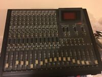 Fostex 812 multi-track 12 channel mixing desk £100 plus postage £35.00