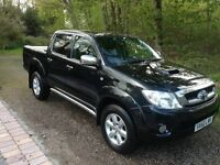 TOYOTA HILUX INVINCIBLE 2010 ( 60 PLATE ) 3.0 Diesel, 50,000 miles, Full Black Leather Interior,