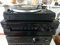 Vintage Audiophile Yamaha AX 596 with original remote-Control