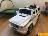 Kids ride on car Mercedes G55 with remote