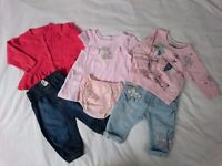 3-6 Months Sleepsuits + Clothes Bundle *see pictures*