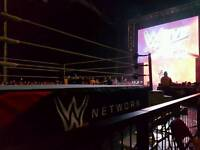 2 x (4 x) Ringside WWE Tickets