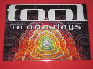 Tool - 10000 Days  - Laminated Promo Poster