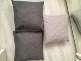 Cushions and canvases