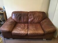 Nice leather couch 2-3 seats available now