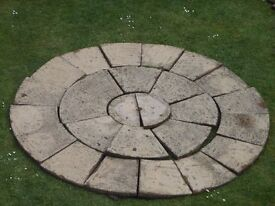 Decorative Stone Circle for Garden