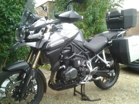 TRIUMPH TIGER EXPLORER 1200 IMMACULATE CONDITION 2012 ONLY 8614 MILES WITH EXTRAS GREAT BIKE