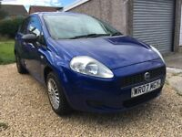2007 Fiat Punto Active 1.2 65 bhp petrol model. June 2019 M.O.T.