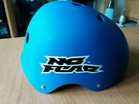 Kids Helmet. Size S. Blue.