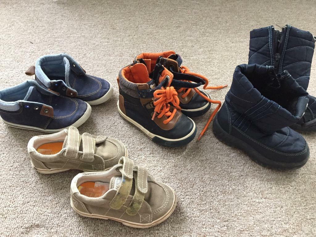 Boys clothes and shoes 3-4,4-5