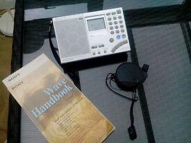 Sony Worldband Radio with SW.