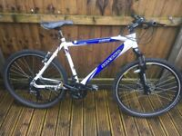Salcano mens mountain bike aluminium shimano 24 speed